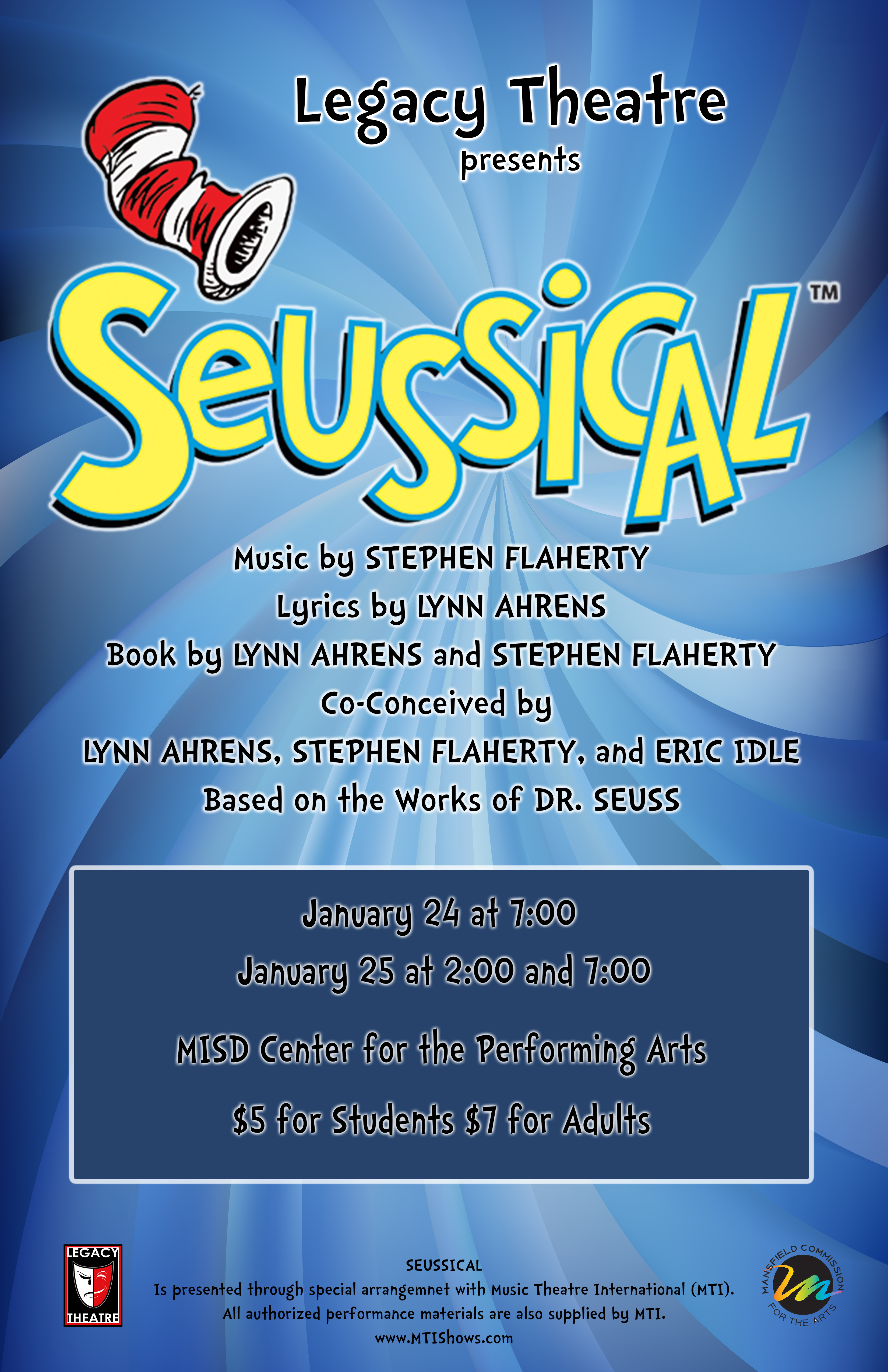 Legacy Theatre presents Seussical